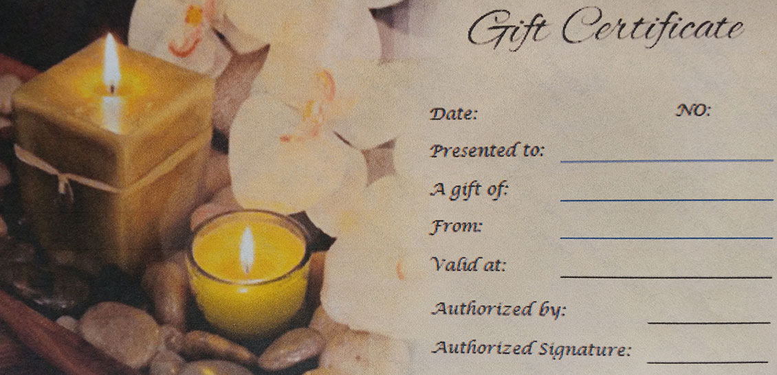 Bridgeford House Bed & Breakfast Gift Certificates