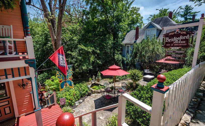 View of Secret Garden at Bridgeford House